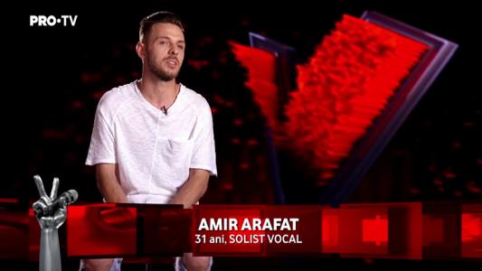 Vocea Romaniei - sezonul 7: Amir Arafat - poveste