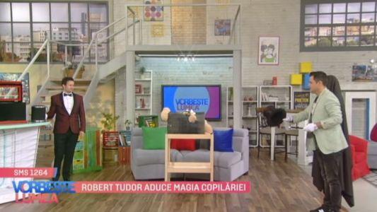 Robert Tudor aduce magia copilariei