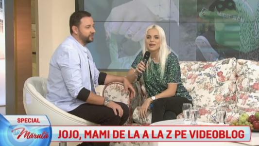 Jojo, mami de la A la Z pe videoblog