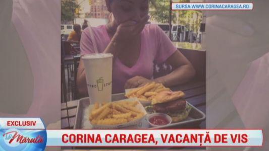 Corina Caragea, vacanta de vis