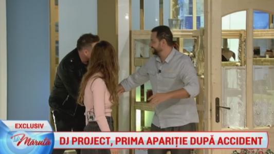 Dj Project, prima aparitie dupa accident