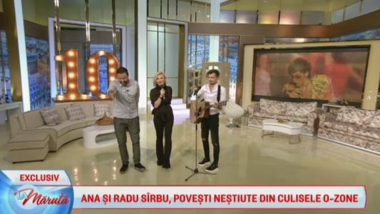 Ana si Radu Sirbu, povesti nestiute din culisele O-Zone