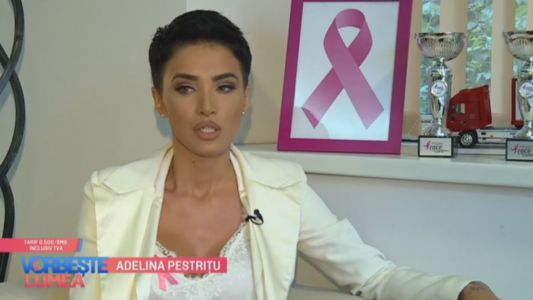 Adelina Pestritu, la controlul medical