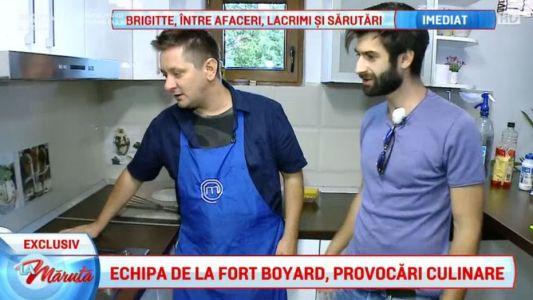 Echipa de la Fort Boyard, provocari culinare