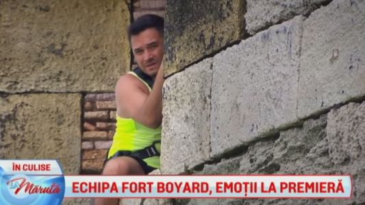Echipa Fort Boyard, emotii la premiera