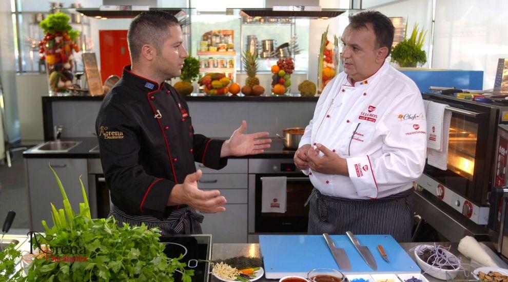 Chef Ciprian Nicolescu este invitat duminica la Arena Bucatarilor