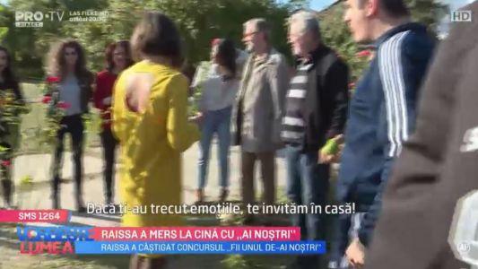 "Raissa a castigat concursul ""Fii unul de-Ai Nostri"""
