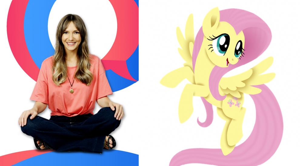 """Adela Popescu aduce magia prieteniei pe marele ecran si da voce adorabilei Fluttershy din """"My Little Pony: Filmul"""""""