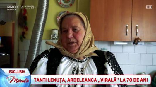 """Tanti Lenuta, ardeleanca """"virala"""" la 70 de ani"""