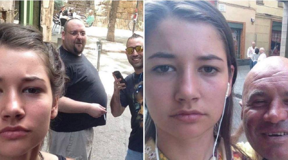 EXPERIMENT: Si-a facut selfie-uri cu barbatii care o hartuiau pe strada, iar proiectul ei a devenit VIRAL