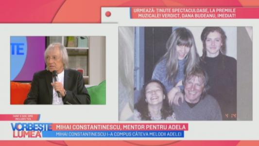 Mihai Constantinescu, mentor pentru Adela!