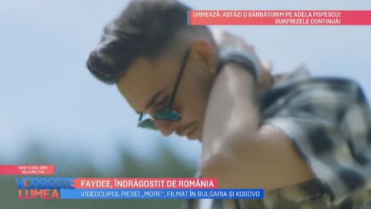 Faydee, indragostit de Romania