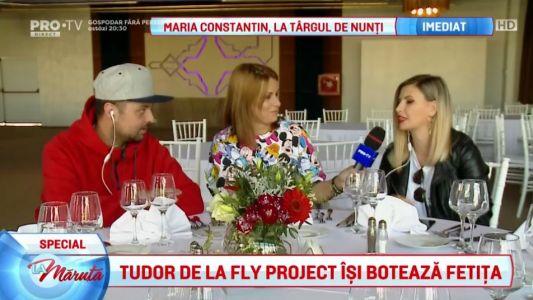 Tudor de la Fly Project isi boteaza fetita