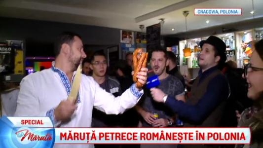 Petrecere alaturi de polonezi indragostiti de Romania