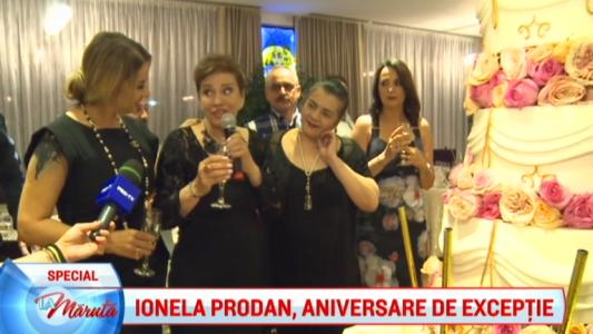 Ionela Prodan, aniversare de exceptie
