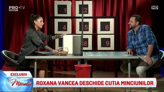 Roxana Vancea deschide cutia minciunilor