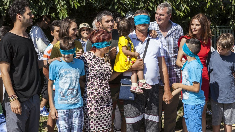 Echipa Visuri la cheie a adus miercuri bucuria si speranta in viata familiei Cristea