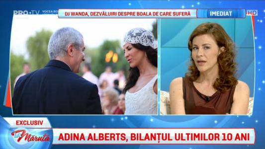 Adina Alberts, bilantul ultimilor 10 ani