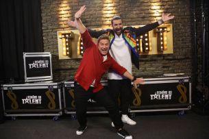 #instagramtakeover cu Smiley si Pavel. Cum se vede show-ul Romanii au talent prin obiectivul camerei lor de fotografiat