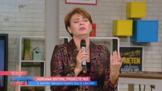 Adriana Antoni, proiecte noi!