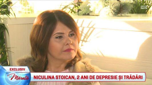 Niculina Stoican, 2 ani de depresie si tradari