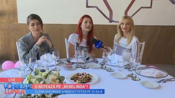 Elena Gheorghe o boteaza pe Bebelinda