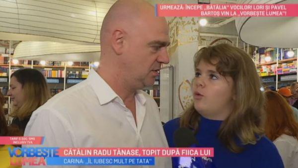 Catalin Radu Tanase, topit dupa fiica lui
