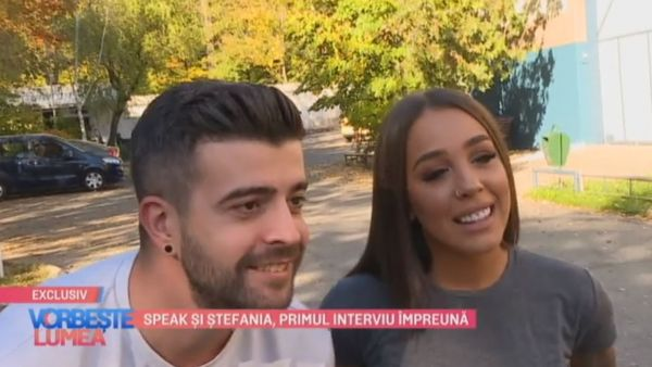 Speak si Stefania, primul interviu impreuna