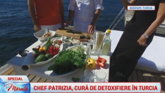 Chef Patrizia, cura de detoxifiere in Turcia