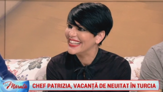 Chef Patrizia, vacanta de neuitat in Turcia
