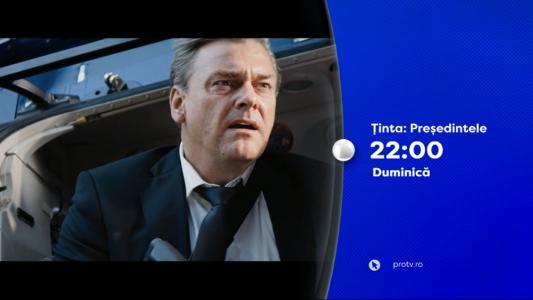 Tinta: Presedintele, duminica, 22 octombrie, de la 22:00, la PRO TV