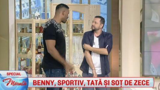 Benny, sportiv, sot si tata de zece