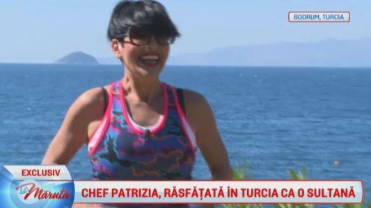 Chef Patrizia, rasfatata ca o sultana in Turcia