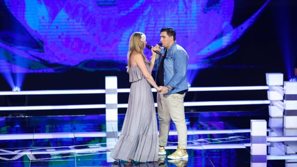 Vocea Romaniei - sezonul 7: Bogdan Stanica vs. Jeannette Curta - On My Own