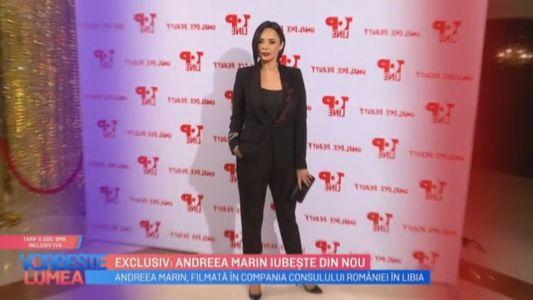 EXCLUSIV: Andreea Marin iubeste din nou