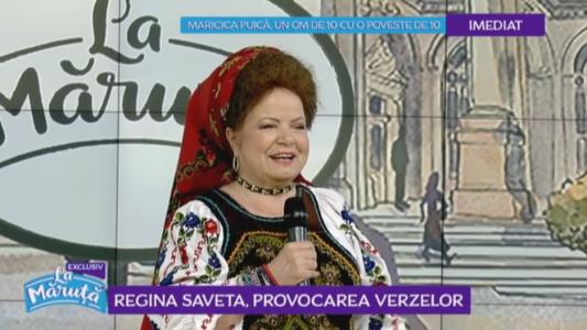 Saveta Bogdan, regina verzei