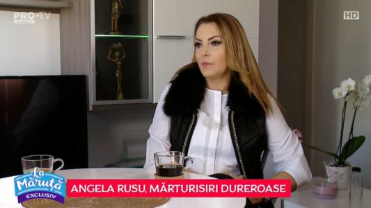 Angela Rusu, marturii dureroase