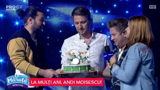 La multi ani, Andi Moisescu!