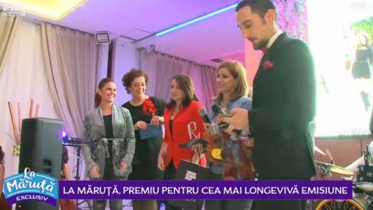 La Măruță, premiu pentru cea mai longeviva emisiune