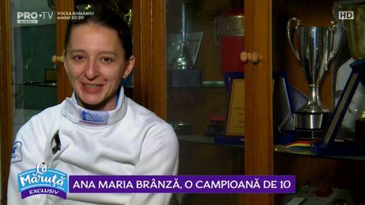 Ana Maria Branza, o campioana de 10