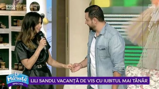 Lili Sandu, vacanta de vis cu iubitul mai tanar