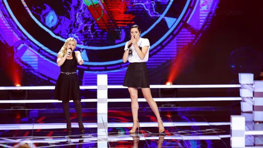 Vocea Romaniei - sezonul 7: Amalia Uruc vs. Neonela Duplei - Rumor Has It / Someone Like You