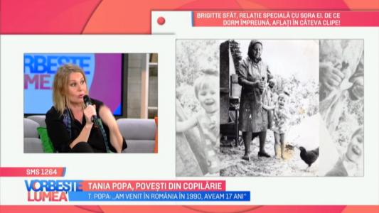 Tania Popa, povesti din copilarie