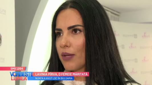 Lavinia Pirva, o femeie maritata