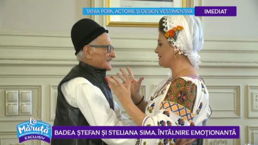 Badea Stefan si Steliana Sima, intalnire emotionanta