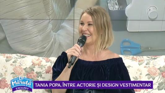 Tania Popa, intre actorie si design vestimentar