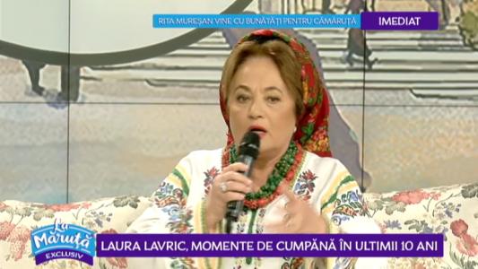 Laura Lavric, momente de 10 in 50 de ani de cariera