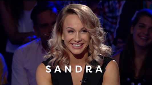 Si baietii sunt stresati cateodata :)) Sandra Izbasa si Cristi Mitrea, miercuri de la 22:30, pe ProTV!
