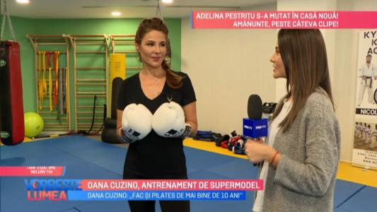 Oana Cuzino, antrenament de supermodel
