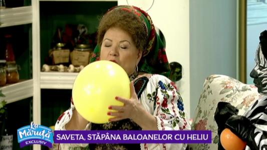 Saveta, stapana baloanelor cu heliu